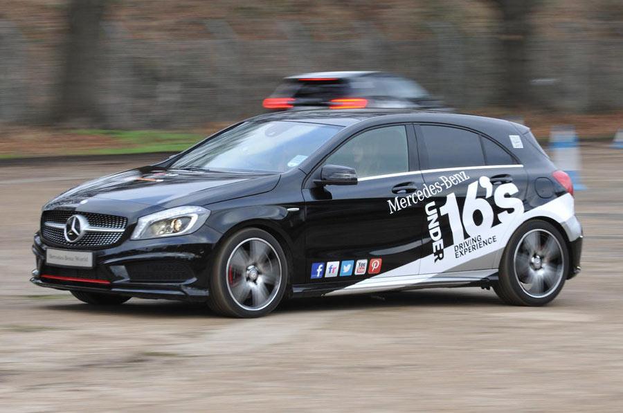 Mercedes-Benz under 16